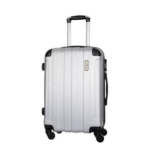 Platinium Beige Delos 4 Wheeled Suitcases 60cm