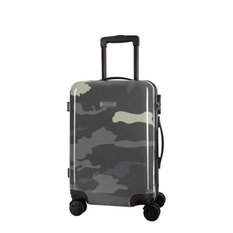 Platinium White Marshall 8 Wheeled Suitcase 50cm