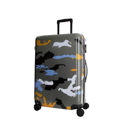Platinium Orange Marshall 8 Wheeled Suitcase 50cm