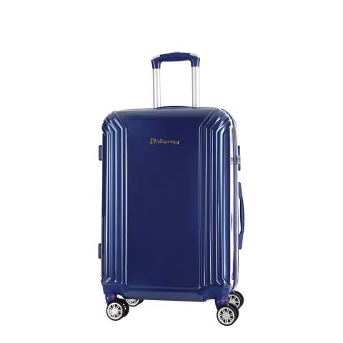 Platinium Blue Akina Wheeled Suitcases Small