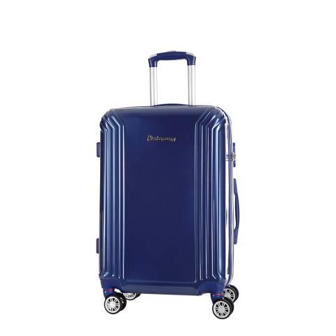 Platinium Blue Akina Wheeled Suitcases 50cm