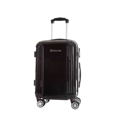 Platinium Black Akina Wheeled Suitcases Small