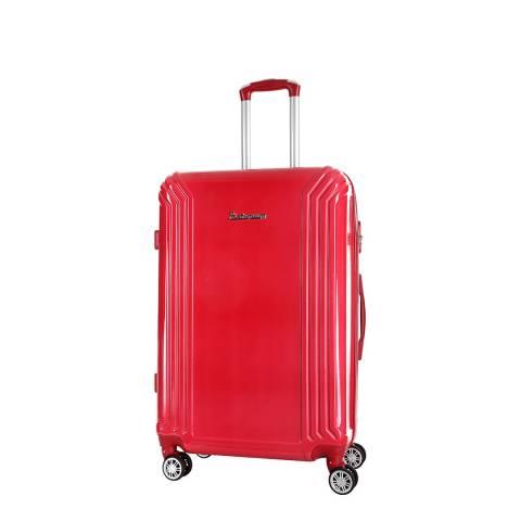 Platinium Red Akina Wheeled Suitcases Small