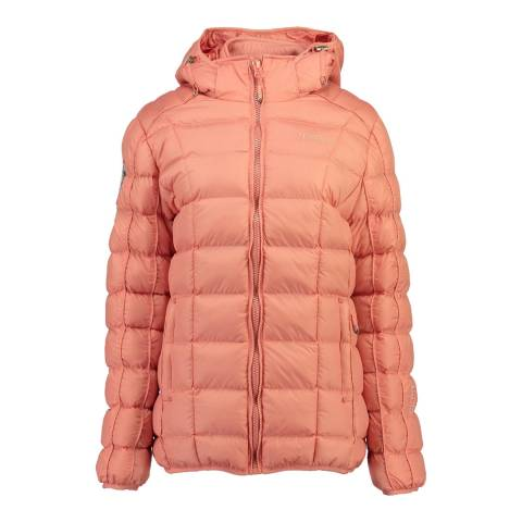 Geographical Norway Coral Barbouille Short Parka