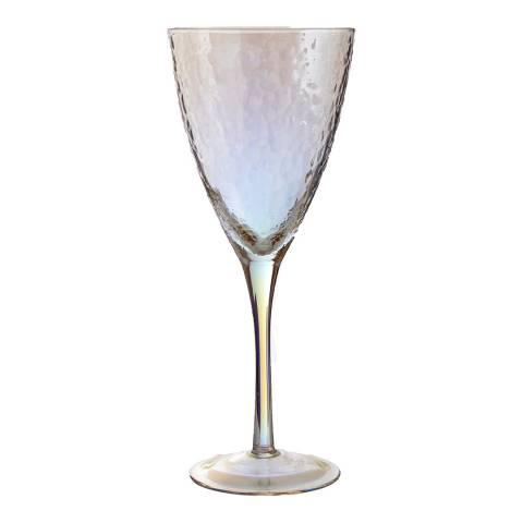 Premier Housewares Set of 4 Aurora Wine Glasses, 377ml