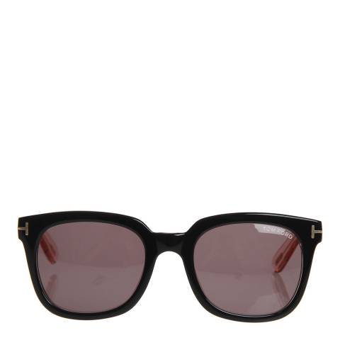 Tom Ford Women's Black Transparent/Grey Lens 53mm