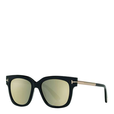 Tom Ford Women's Black/ Gold Sunglasses 53mm