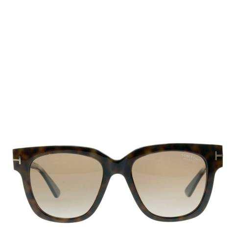 Tom Ford Women's Brown / Gold Sunglasses 53mm