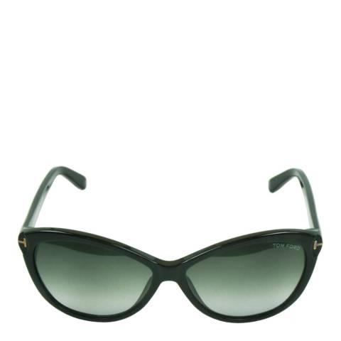 Tom Ford Women's Shiny Black Tom Ford Sunglasses 60mm