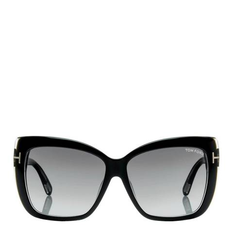 Tom Ford Women's Shiny Black Tom Ford Sunglasses 59mm