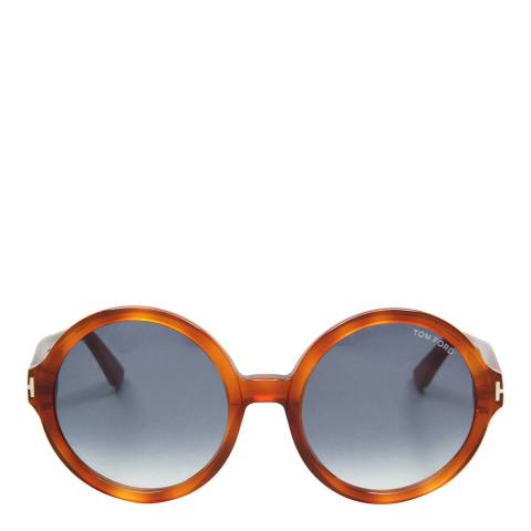 Tom Ford Women's Bright Brown Brown Sunglasses 55mm