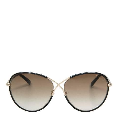 Tom Ford Women's Black Metal Tom Ford Sunglasses 62mm