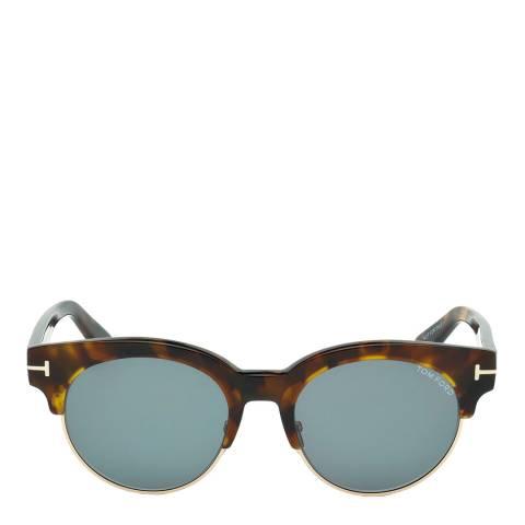 Tom Ford Women's Brown Havana Tom Ford Sunglasses 50mm