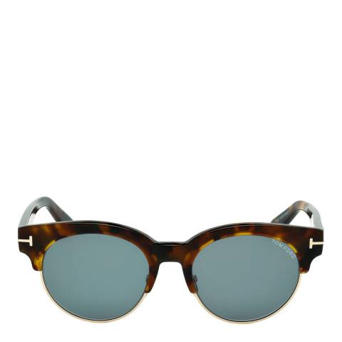 Tom Ford Women's Brown Brown Sunglasses 52mm