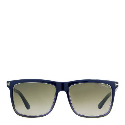 Tom Ford Women's Navy Blue / Graduated Blue 57mm