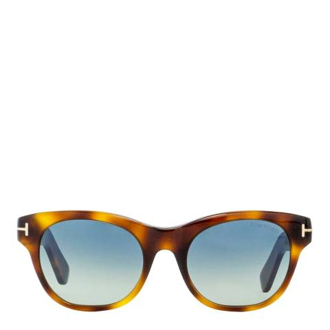 Tom Ford Women's Brown Brown Sunglasses 51mm
