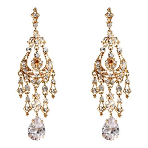 Amrita Singh Royal Style Earrings With Austrian Crystal Detailing