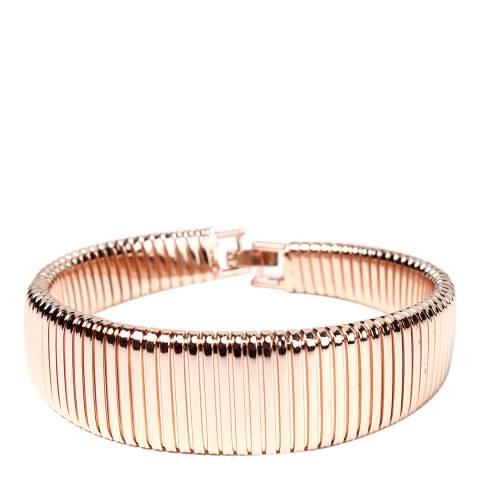 Amrita Singh Brass Bracelet With Fold-Over Clasp Closure