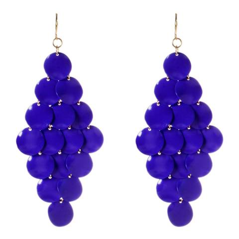 Amrita Singh Diamond-Shaped Earrings With Tiered Discs