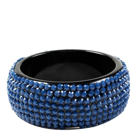 Amrita Singh Blue Crystal Bangle