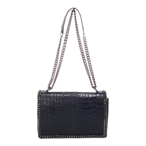 Lisa Minardi Black Lisa Minardi Leather Shoulder Bag