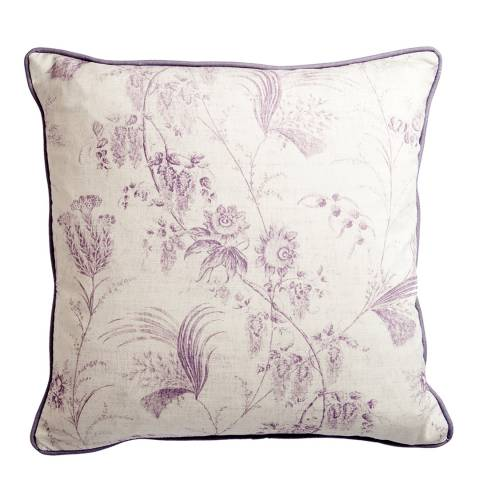 Arley House Lilac Passiflora  Cushion, 50cm