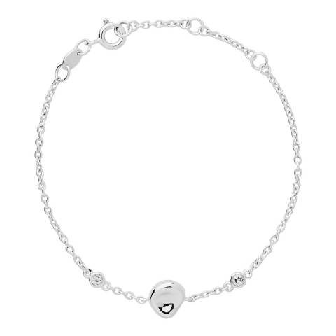 Links of London Silver Sterling Silver Pebble Bracelet