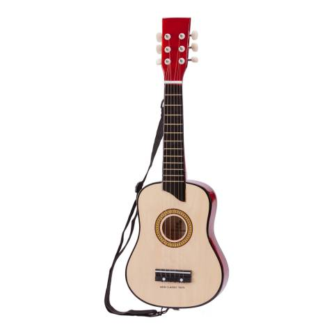 New Classic Toys Natural Guitar Deluxe