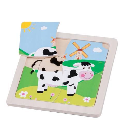 New Classic Toys Cow Mini Puzzle