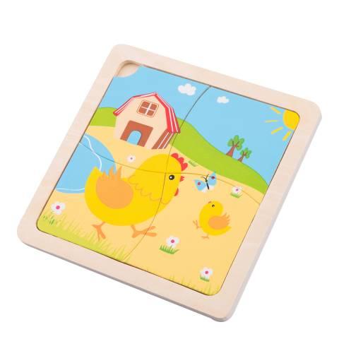 New Classic Toys Chicken Mini Puzzle