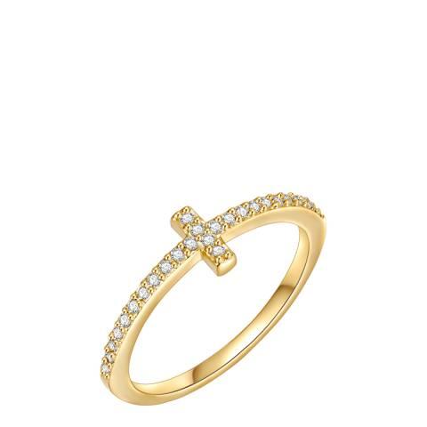Runway Gold Zirconia Ring