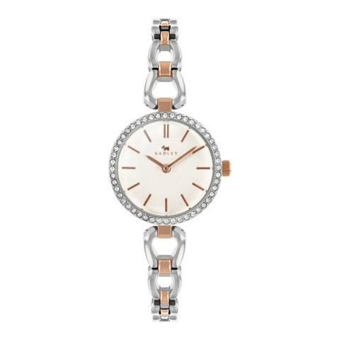 Radley Silver/Rose Gold Links Stainless Steel Watch