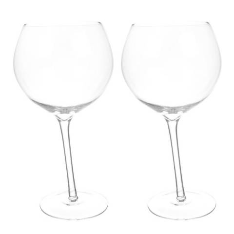 Father's Day Gifts Set of 2 Bar Bespoke Tipsy Gin Glasses