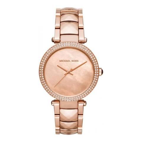 Michael Kors Women's Rose Gold-Tone Watch