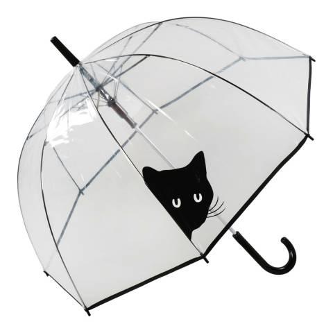 Susino Transparent Peeking Cat Birdcage Umbrella