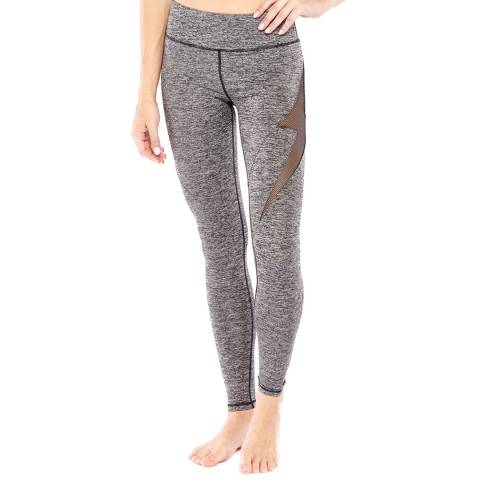 Electric Yoga Grey Lightning Bullet Leggings