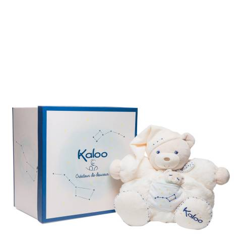 Kaloo Large Off White Chubby Bear and Baby