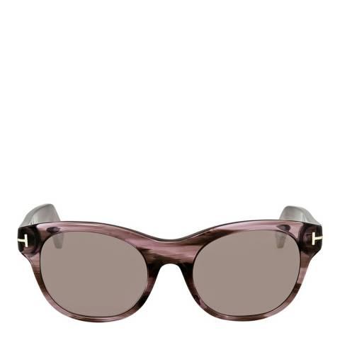 Tom Ford Women's Purple  Tom Ford Sunglasses 51mm