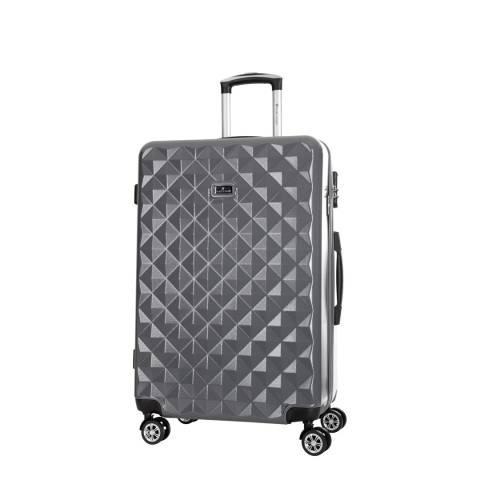 Platinium Grey Gregoria 8 Wheeled Suitcase 50cm