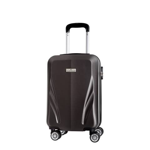 Platinium Grey Islas 8 Wheeled Suitcase 52cm