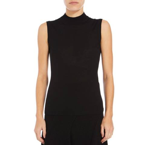 Boss by Hugo Boss Black Fabrili Wool Top