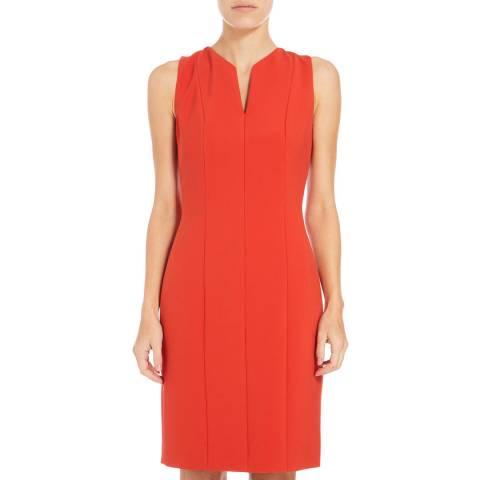 Boss by Hugo Boss Sienna Red Dency Panelled Dress