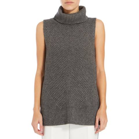 Boss by Hugo Boss Grey Fala Cashmere Blend Jumper