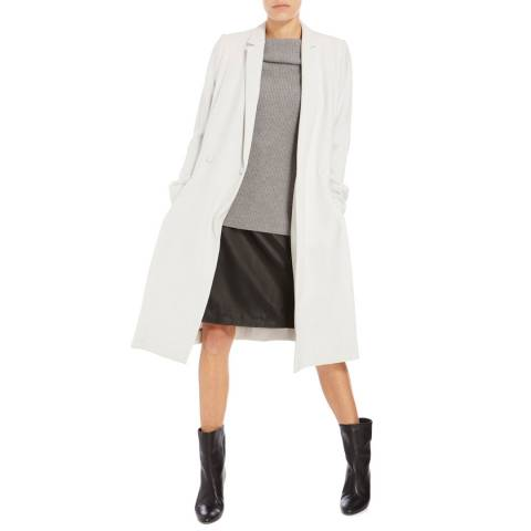 Boss by Hugo Boss Pale Grey Cipeila Coat