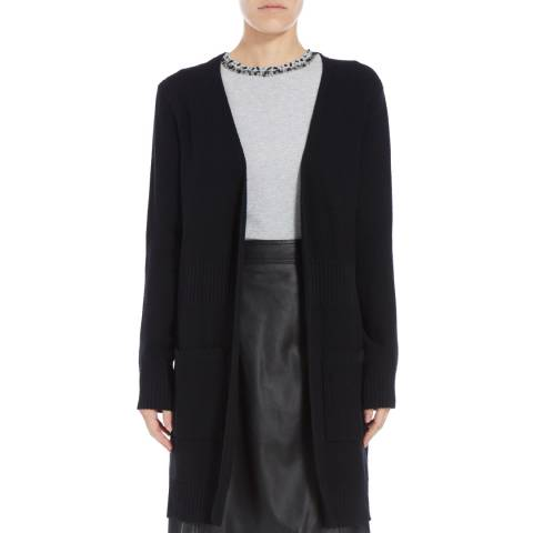 Boss by Hugo Boss Black Fahima Ribbed Cardigan