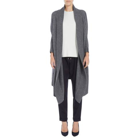 Boss by Hugo Boss Grey Farela Cashmere Blend Cardigan