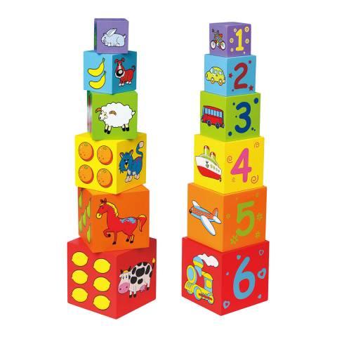 Viga Toys Nesting Stacking Blocks