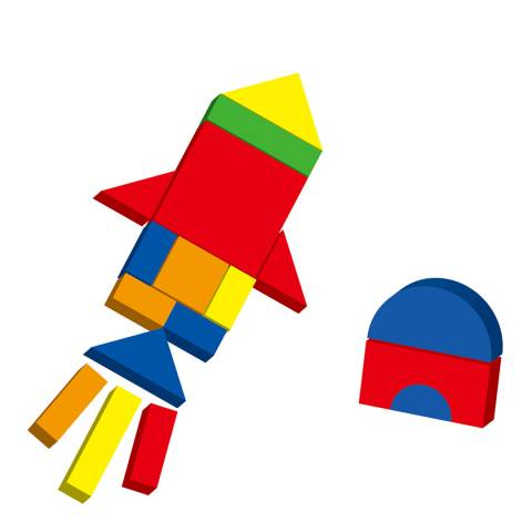 Viga Toys Magnetic Shapes And Box