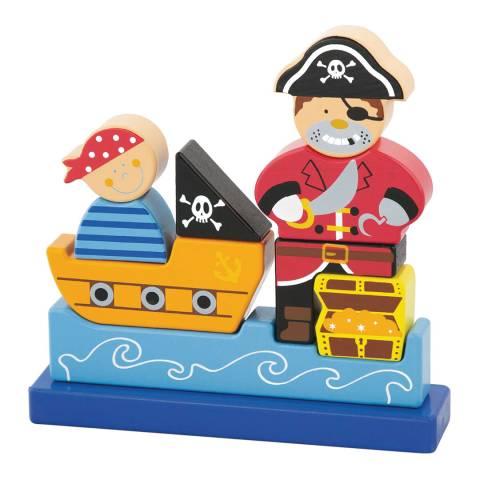 Viga Toys Pirate Magnetic 3D Puzzle