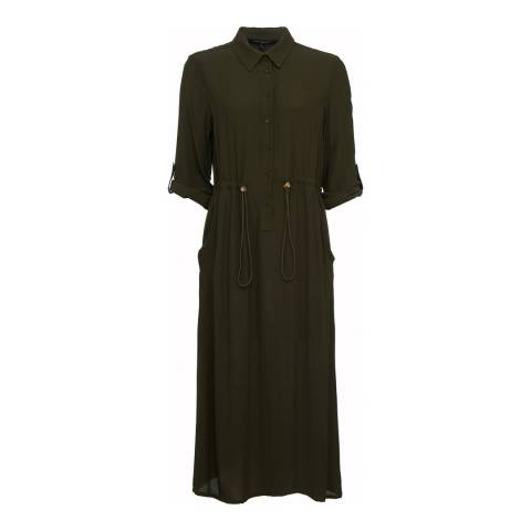 French Connection Woodland Green Dress